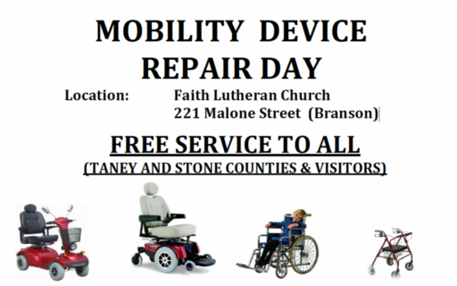 Mobility Device Repair Day