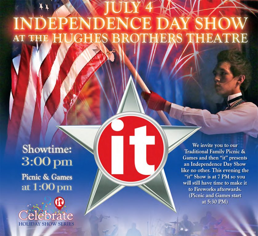 Independence Day Show at the Hughes Brothers Theatre