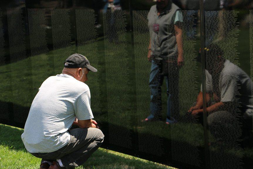 Monday November 6 - Vietnam Veterans Memorial Wall Opening